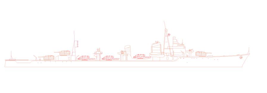 新作艦艇デザイン! 駆逐艦「島風」の登場です( ̄^ ̄)ゞ
