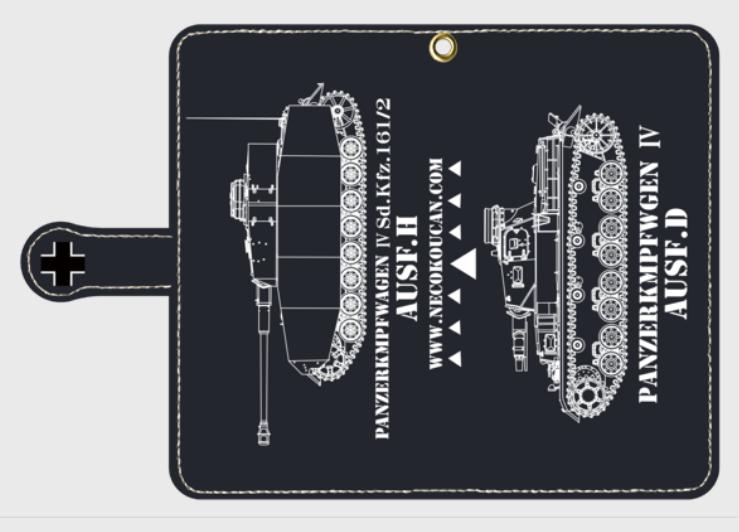 ドイツ中戦車「Ⅳ号D/H型」スマートフォン
