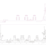 球磨型軽巡洋艦設計開始です。